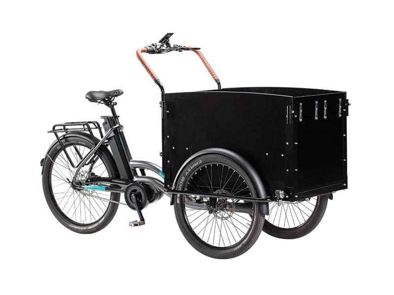 elcykel lådcykel ECORIDE CARGO LOADER