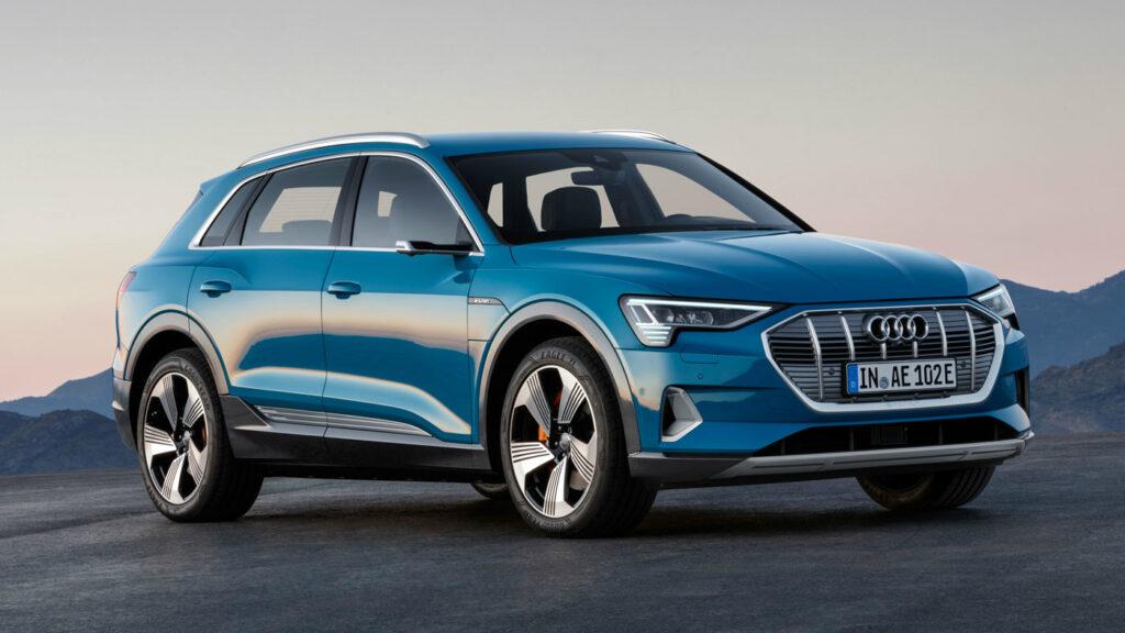 elbil Audi e-tron Sverige 2020
