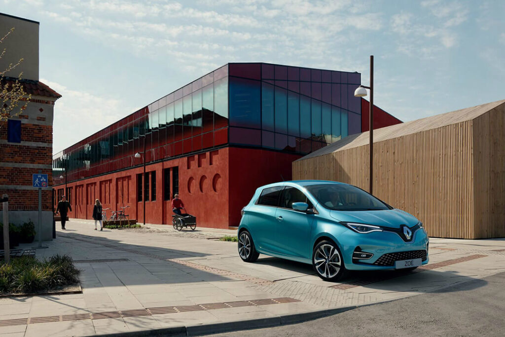 elbil Renault ZOE sverige 2020